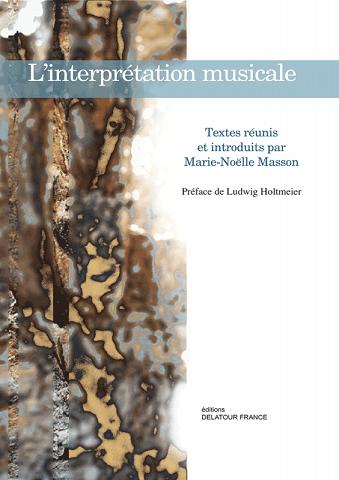 Read more about the article Publication — L'interprétation musicale