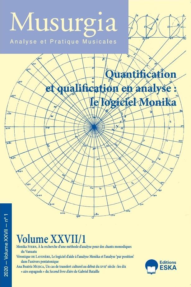 Read more about the article Musurgia XXVII/1 – Quantification et qualification en analyse : le logiciel Monika